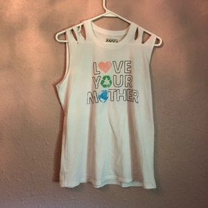 Love your Mother Earth tank top!